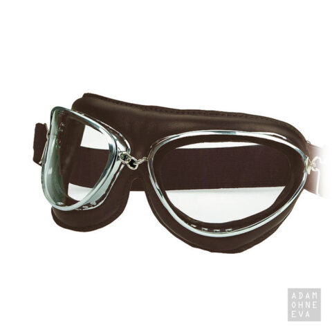 AVIATOR C – Oldtimer-Fliegerbrille im Retro-Look braun (im Etui)