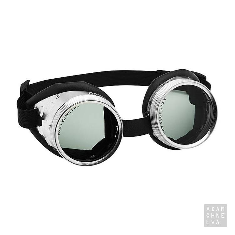 RING CP - Historisch anmutende Schraubring-Brille, mit Lederpolster ...