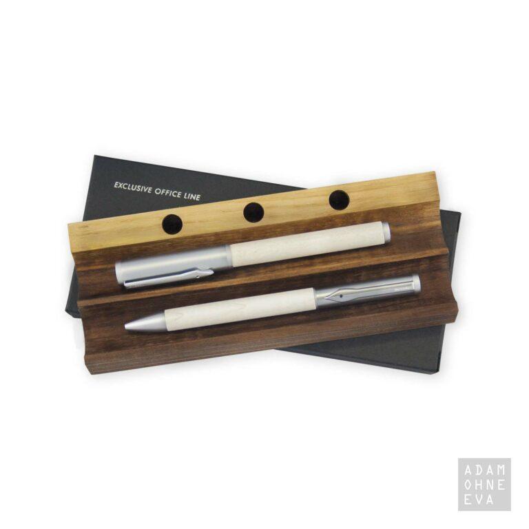 Messmer OLYMP Füllhalter und Tintenschreiber aus Bergahorn | Geschenke für Männer