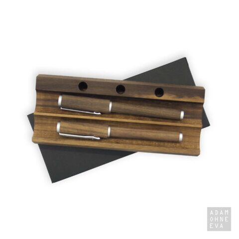Messmer KULT Füllhalter und Tintenschreiber aus edlem Nussbaum | Männergeschenke