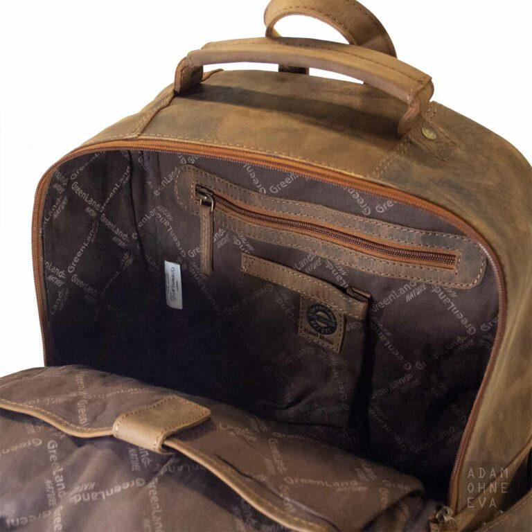 Rucksack XL aus Leder (Serie Montenegro), Greenland | Geburtstagsgeschenke für Männer