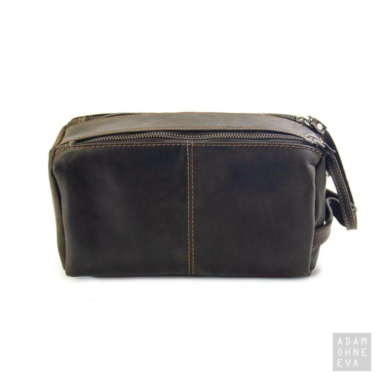 Kulturtasche aus Leder (Serie Westcoast)   Geschenke für Männer