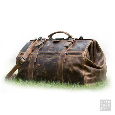 Traveller - Hochwertige Leder-Reisetasche (Serie Montana), Greenland | Geschenke für Männer