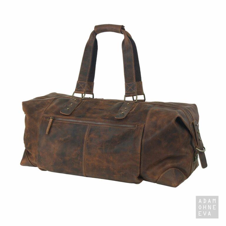 Reisetasche mit Gurt, Leder (Serie Classic), Greenland | Männergeschenke