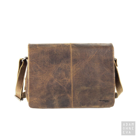 Organizerbag A4, 3-tlg. mit Zusatzfächern, Leder (Serie Montana), Greenland | Männergeschenke