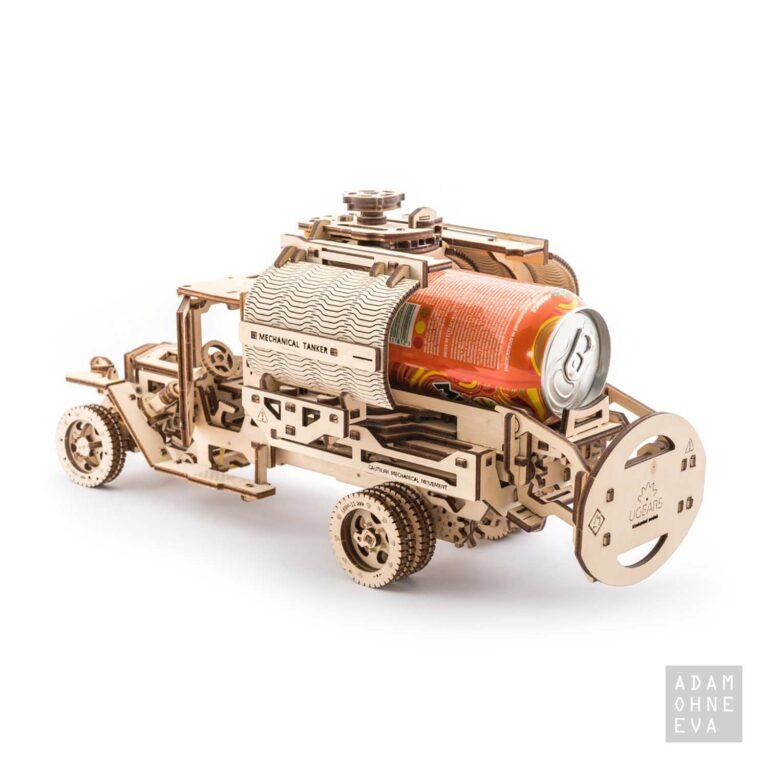 LKW-Tankwagen aus Holz – 3D-Puzzle Modellbau mit 594 Bauteilen, Ugears | Geschenke für Männer zum Geburtstag