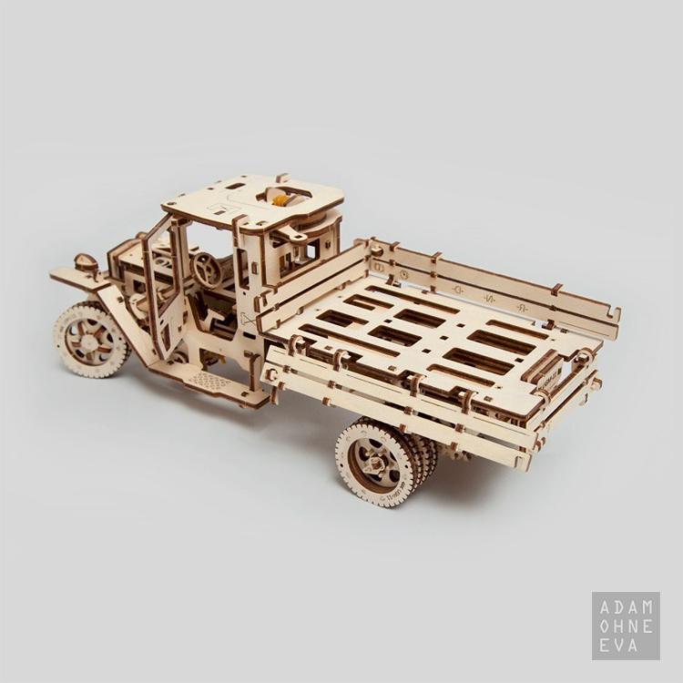 LKW UGM-11 aus Holz – 3D-Puzzle Modellbau mit 420 Bauteilen, Ugears | Geschenke für Männer zum Geburtstag